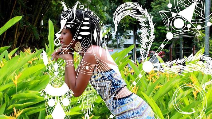 Novo editorial é inspirado em deuses egípcios; na foto, Bastet, deusa da fertilidade (Foto: TV Bahia)
