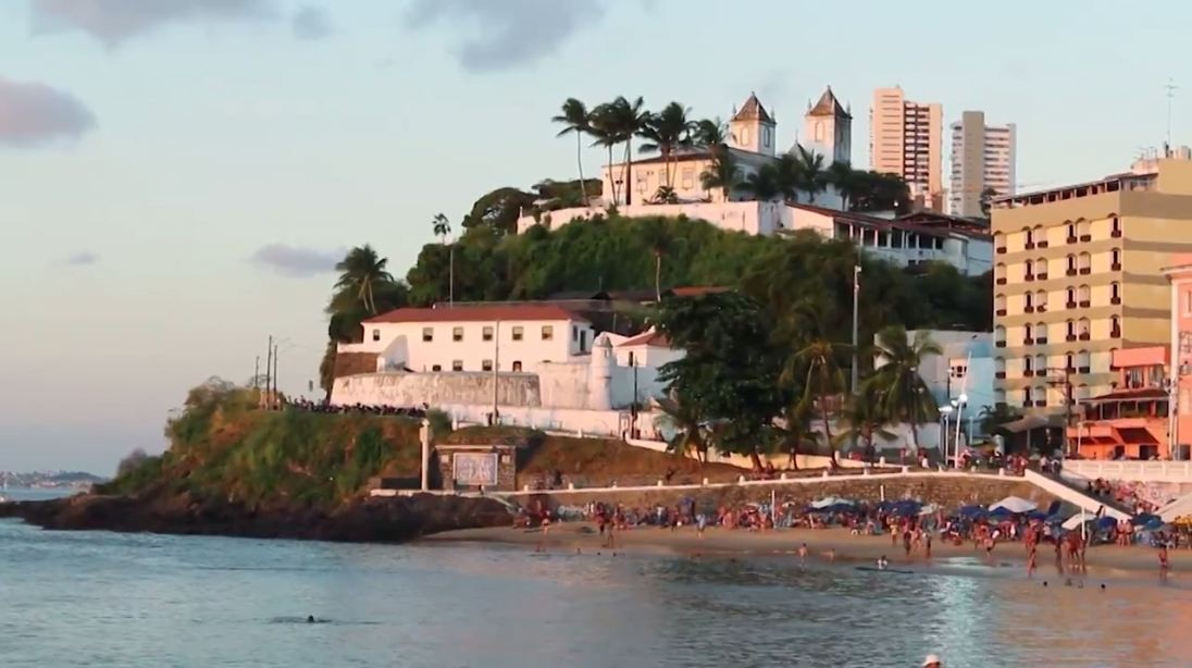 Porto da Barra foi cenário do filme 'Trampolim do Forte', em 2010 (Foto: Divulgação)