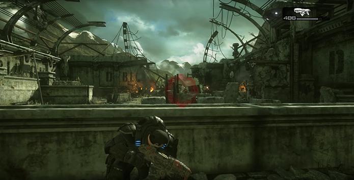 Gears of War: Ultimate Edition dá vida ao primeiro título (Foto: Reprodução/YouTube)
