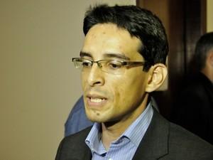Patryck Ayala deverá ser o procurador-geral do estado. (Foto: Renê Dióz / G1)