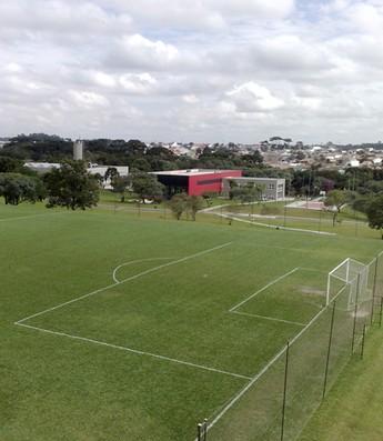 Vista aérea do CT do Caju (Foto: Márcio Iannacca/Globoesporte.com)