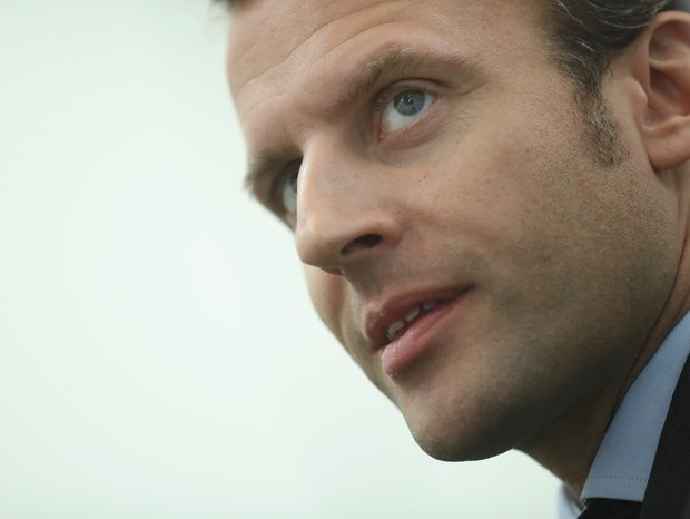 Emmanuel Macron, presidente da França (Foto: getty images)