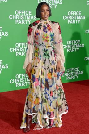 Kelly Rowland em première de filme em Los Angeles, nos Estados Unidos (Foto: Matt Winkelmeyer/ Getty Images/ AFP)
