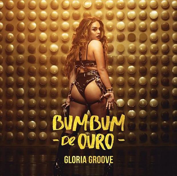 Gloria Groove no clipe Bumbum de Ouro (Foto: Divulgação)