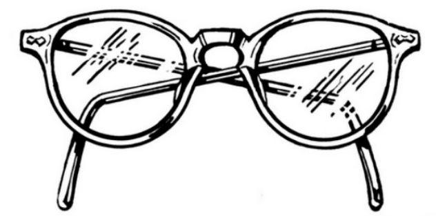 Óculos sem grau, um charme anormal (Foto: Reprodução)