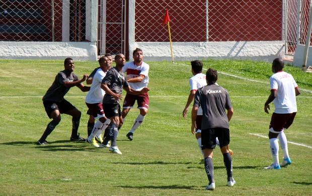 Bragantino e Juventus se enfrentam em jogo-treino (Foto: Edson Campos/ Divulgação)