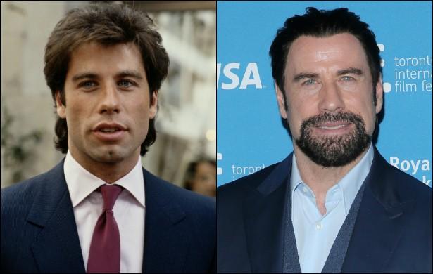 John Travolta já é sessentão! Porém na foto a esquerda, feita no início de 1983, o ator de 'Pulp Fiction: Tempo de Violência' (1994) e 'A Outra Face' (1997) ainda tinha 28 aninhos. (Foto: Getty Images)