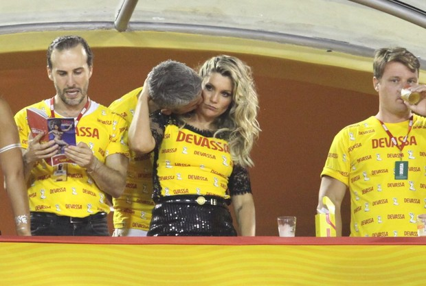Flavia Alessandra e Otaviano (Foto: Claudio Andrade/ Foto Rio News)