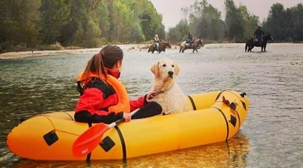As aventuras dos dois são compartilhadas em site no Instagram (Foto: Reprodução Instagram)