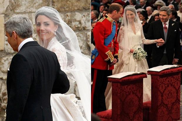 CASAMENTOS - Kate Middleton e Príncipe William - 2011 (Foto: Reuters agência)