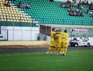 Mirassol venceu o Linense na estreia da Copa Paulista 2013 (Foto: Vinicius de Paula/Agência Mirassol)