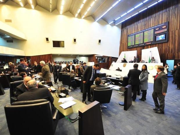 Projeto foi votado pelos deputados estaduais na sessão desta segunda-feira (22) (Foto: Divulgação / Pedro de Oliveira / Alep)