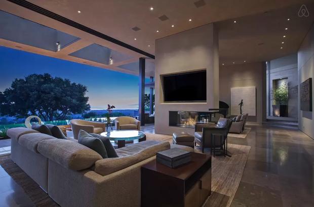 Casa alugada por Justin Bieber (Foto: Airbnb)