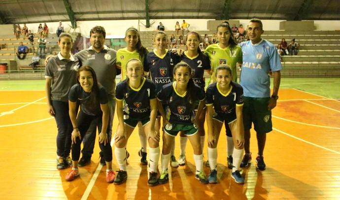 Iranduba Futsal Feminino Sub-20 Amazonas (Foto: Emanuel Mendes Siqueira)