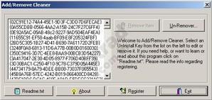 Add/Remove Cleaner, desinstalador de programas