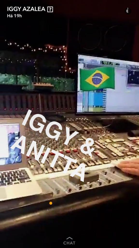 Anitta (Foto: Snapchat / Reprodução)