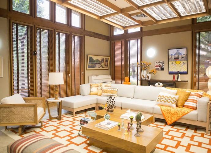 Sala de Estar do É de casa (Foto: Renato Rocha Miranda/TV Globo)