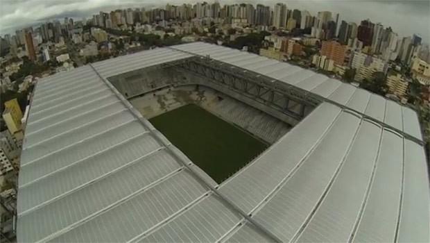 Arena da Baixada foi vistoriada e será sede da Copa (Foto: Reprodução)