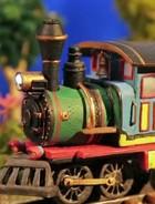 Como cenas do trem foram feitas (Meu Pedacinho de Chão/TV Globo)