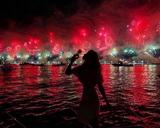Grazi Massafera no Ano Novo (Foto: Reprodução/Instagram)