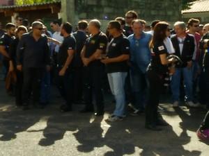 Policiais civis do Triângulo Mineiro e Alto Paranaíba entram em greve (Foto: Reprodução/TV Integração)