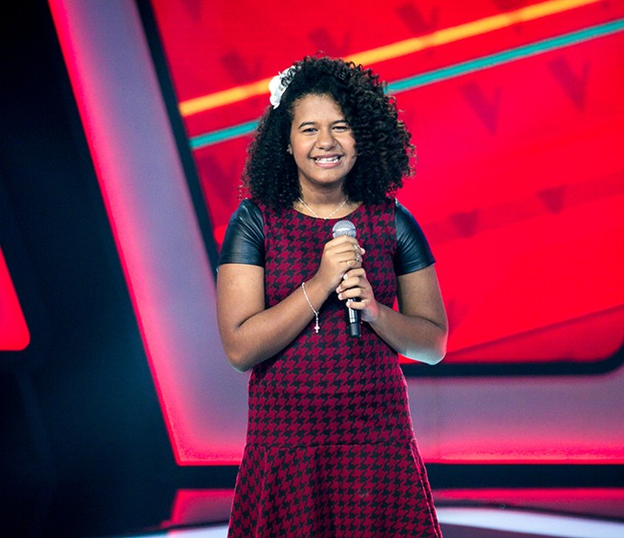 Bebé Salvego é aprovada no The Voice Kids com 'I can't give you anything but love' (Foto: Isabella Pinheiro/Gshow)