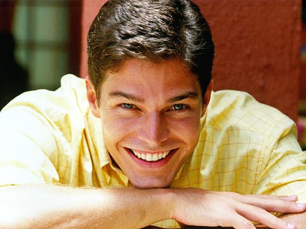 Erik Marmo interpretou o personagem Sócrates na temporada de 2000 de Malhação (Foto: Cedoc / TV Globo)