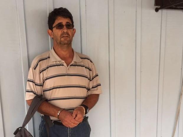 Padre cumpria restante de pena em liberdade e foi preso em Santa Catarina (Foto: Polícia Civil de Minas Gerais/Divulgação)