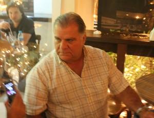 Odílio Rodrigues vice-presidente do Santos (Foto: Bruno Gutierrez / Globoesporte.com)