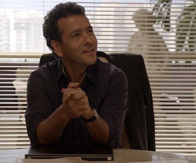 Aderbal tem novos rumos na sua política (Foto: TV Globo)