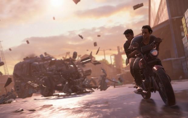 Nova demonstração de 'Uncharted 4' tirou o fôlego na apresentação da Sony antes da E3 2015 (Foto: Divulgação/Sony)