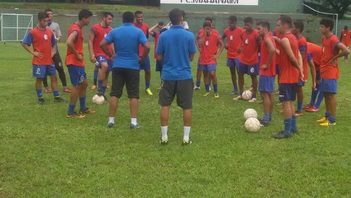 Araguaína treina para enfrentar o ABC na Copa São Paulo (Foto: Arquivo Pessoal)