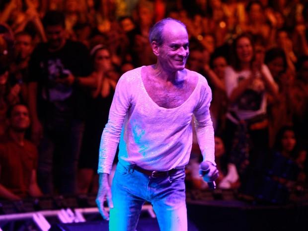 Ney Matogrosso cantou sucessos ao lado da BaianaSystem (Foto: Carol Garcia/GOVBA)