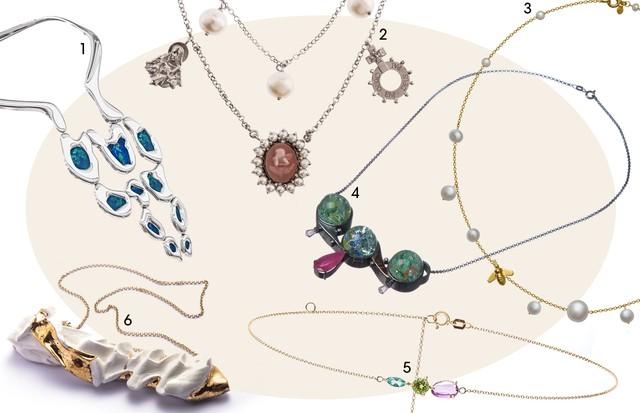 1. La Mere 2. Laura Marchi 3. Riviera Store 4. Mariah Rovery 5. Carolina Neves 6. Renata Barcelos (Foto: Arte Vogue Online)