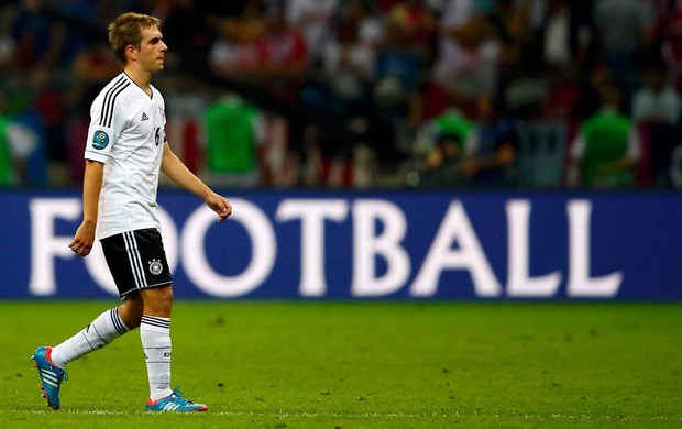 phillip lahm alemanha it&#225;lia eurocopa (Foto: Ag&#234;ncia Reuters)