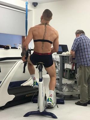 Conor McGregor bicicleta UFC (Foto: Reprodução/Instagram)