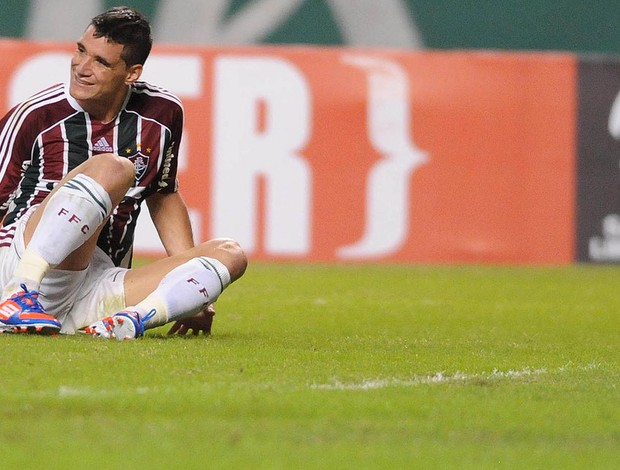 Thiago Neves, Fluminense x Boca Juniors (Foto: Dhavid Normando / Photocamera)