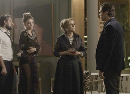 Gael enfrenta Sophia e quer saber verdade sobre o que aconteceu com Clara