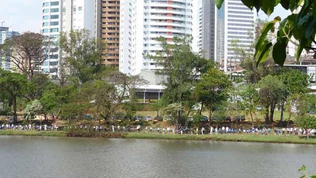 RPC convida você para celebrar a paz no 7º Abraço no Lago Igapó, em Londrina (Foto: Reprodução/RPC)