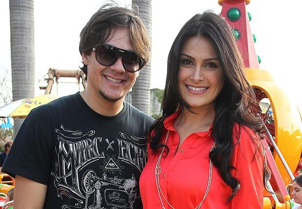 Leandro e Natália (Foto: Foto Rio News)