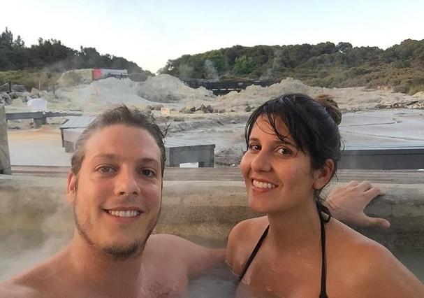 Fabio Porchat e Nataly Mega (Foto: Reprodução/Instagram)