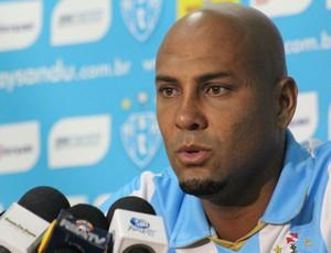 Atacante Souza novo contratado do Paysandu
