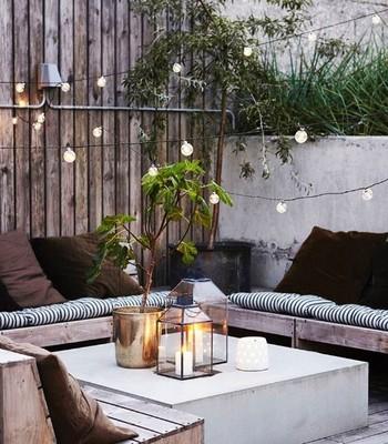 Que tal um jantarzinho no jardim, hein? (Foto: @toc_homes)