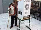 Mesmo sem obrigatoriedade, idosos fazem questão de votar em Prudente