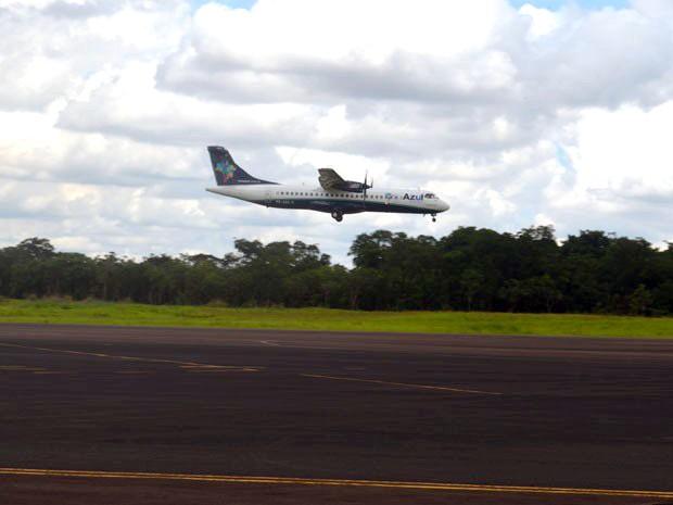 Aeroporto de Araraquara retomou voos comerciais nesta quinta-feira (12) (Foto: Felipe Turioni/G1)