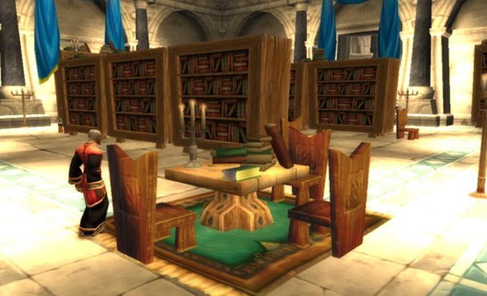 Sente-se e aproveite os livros de World of Warcraft (Foto: Divulgação)