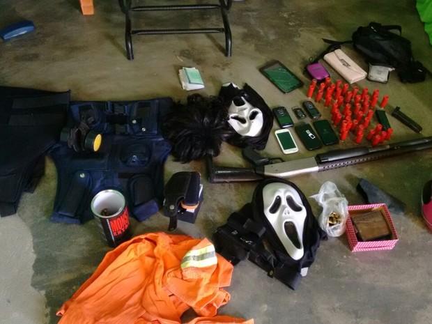 Operação aconteceu no bairro Planalto, na zona Oeste de Natal (Foto: Divulgação/Polícia Civil do RN)