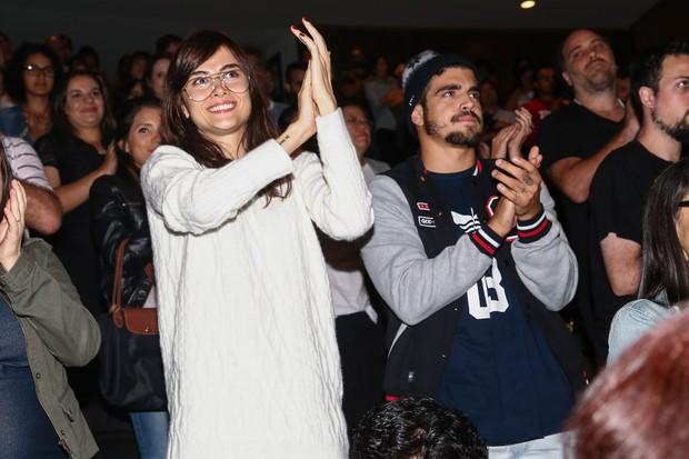 Maria Casadevall e Caio Castro (Foto: Manuela Scarpa/Photo Rio News)