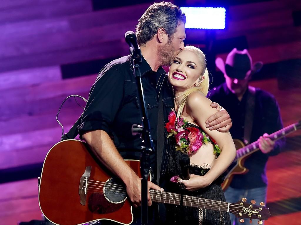Blake Shelton e Gwen Stefani (Foto: Divulgação)