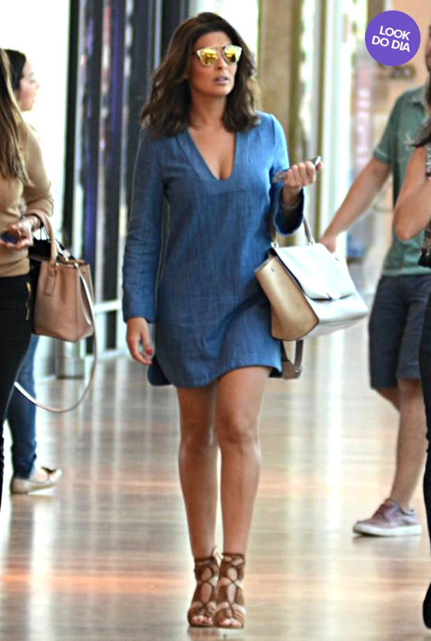 Look do dia - Juliana Paes (Foto: Fabio Moreno / AgNews)